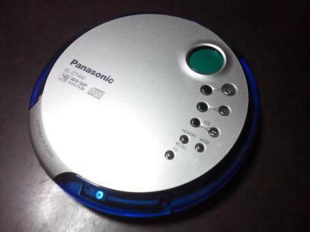 PanasonicのポータブルCD(SL-CT490)