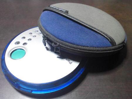 PanasonicのポータブルCD(SL-CT490)とカバー