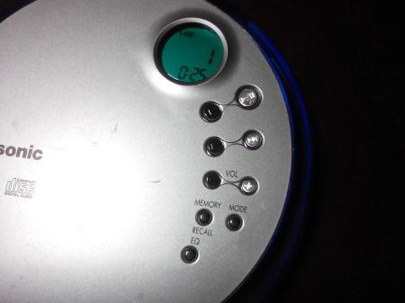 操作ボタンと液晶画面