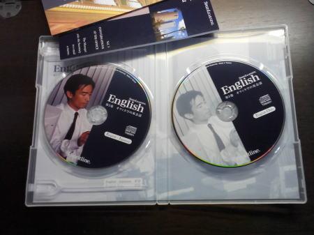第3巻のCDとスクリプトブックなど