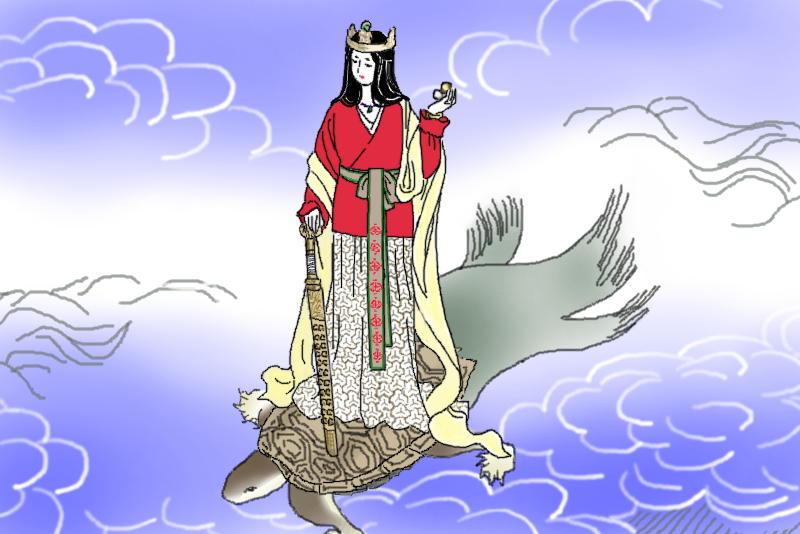 豊玉毘売のイメージ