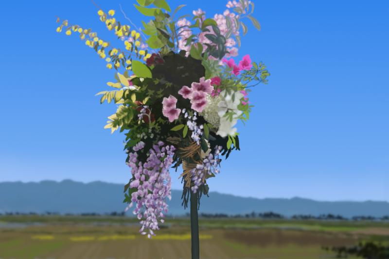 天道花のイメージ